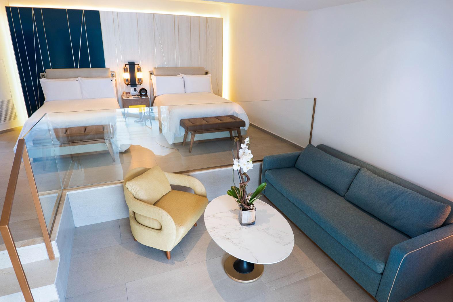 Caribbean-Suite-Hard-Rock-Hotel-Anc-Casino-Punta-Cana-Living